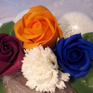 Fleurs de savon
